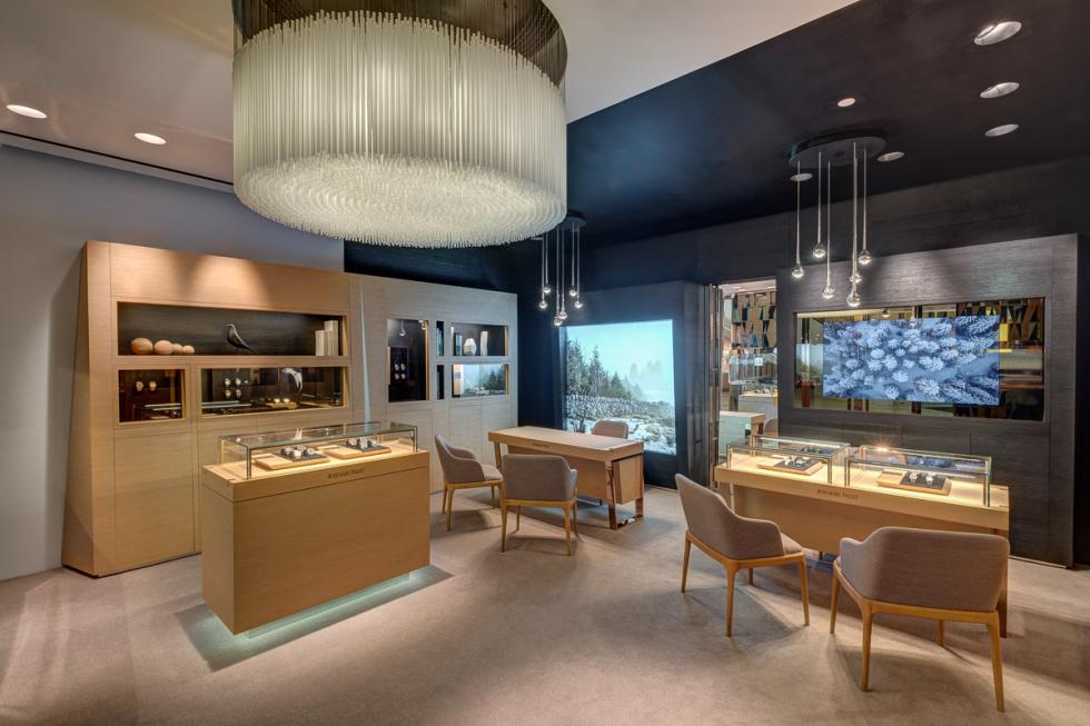 Interior boutique photography for Audemars Piguet Thailand