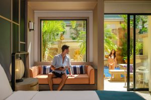 holiday inn resort Patong pool and interior lifestyle photography
