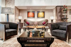 interior hotel photography