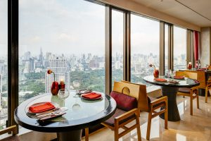 saffron banyan tree Bangkok interior photography