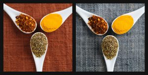 spices food photography