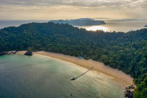 aerial hotel photography thailand and Myanmar