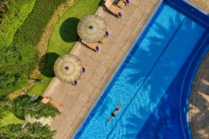 hotel drone aerial photography thailand
