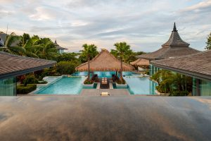 hotel photography Thailand pool villa