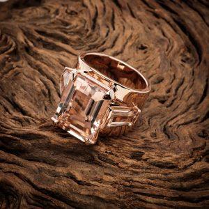 jewelry photographer Bangkok ring on wood