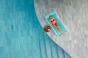 luxury pool villa lifestyle photography Thailand