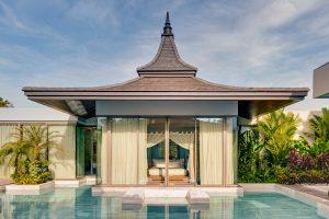luxury pool villa photography Thailand