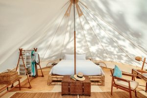 resort photography Thailand of luxury tented camp