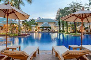 resort photography pool holiday inn Phuket thailand