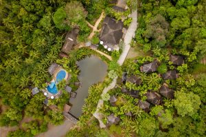 resort drone photography Thailand Koh chang